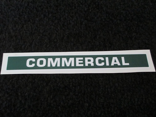 LAWN-BOY COMMERCIAL DECK DECAL