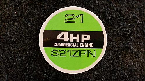 LAWNBOY COMMERCIAL S21ZPN RECOIL DECAL