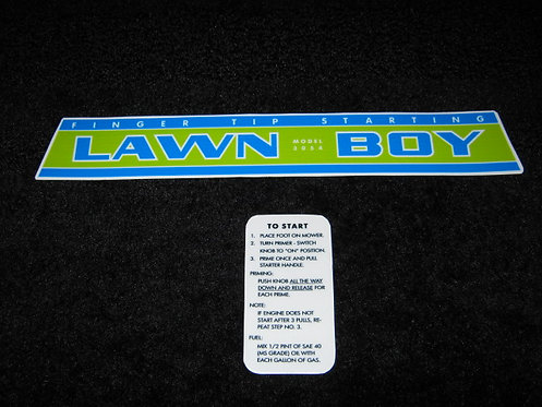 LAWN- BOY MODEL 3054 2 PIECE SHROUD SET