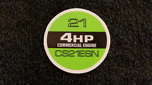LAWN-BOY CS21ESN COMMERCIAL RECOIL DECAL