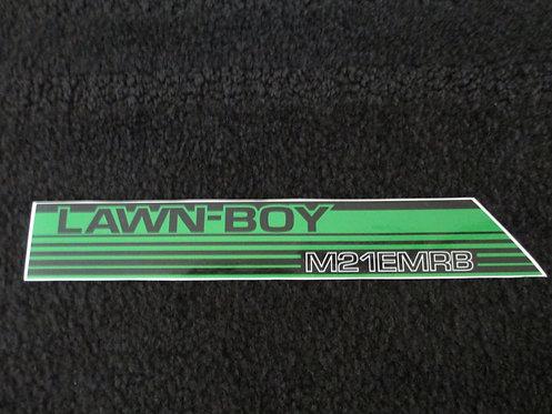 LAWN-BOY HANDLE DECAL M21EMRB