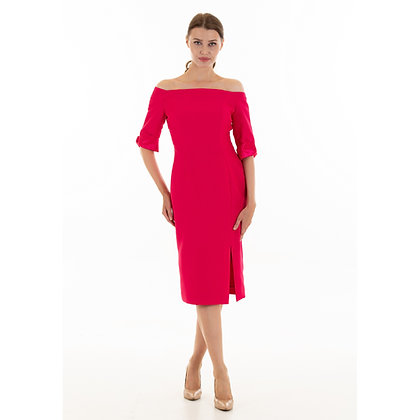 Sydney dress in Hot Pink