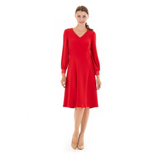 Red Rita dress