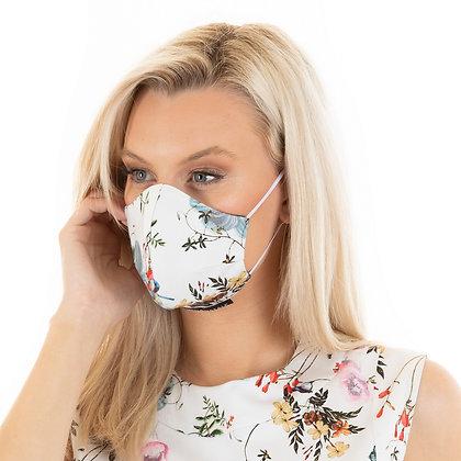 Classic Face designer face mask:floral bouquet & other prints