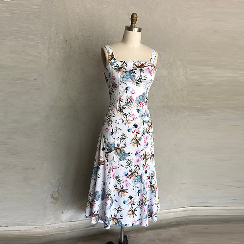 Susie dress:bouquet