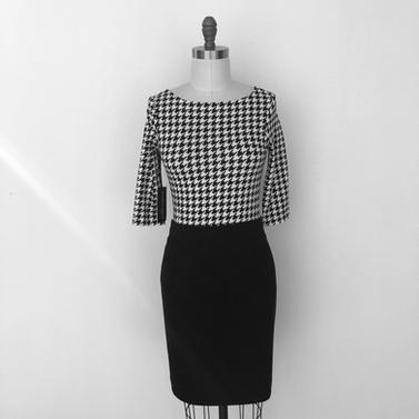 black Cambridge skirt
