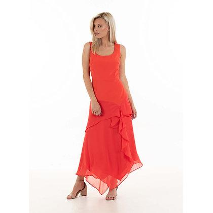 Veronique dress;orange