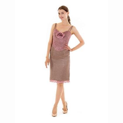 Antonette dress: knee length
