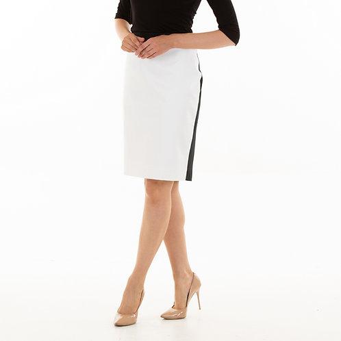 Black and white Cambridge skirt