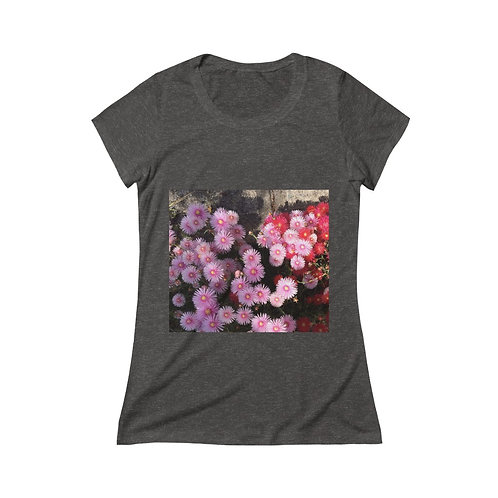 Pink Floral Bouquet tee