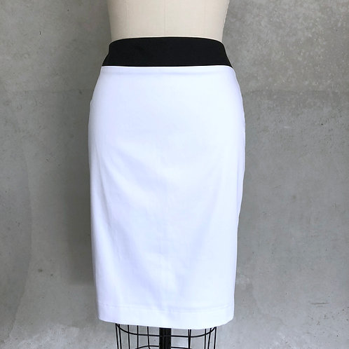 Black and white Cambridge skirt