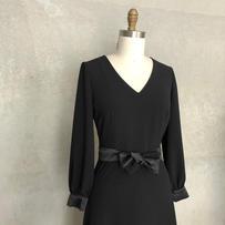 Rita dress in black