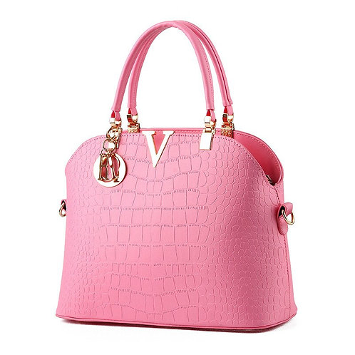 Women's Dressy Day Bag with handle and shoulder extension straps