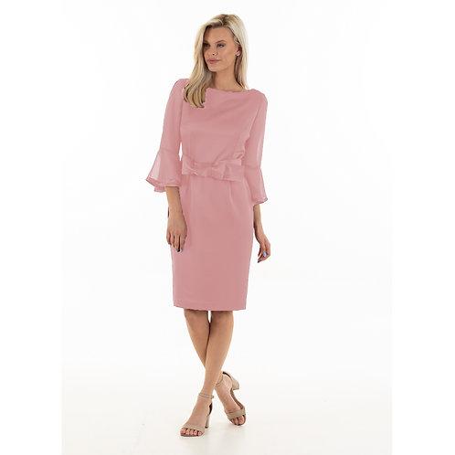 Vivian Dress: Dusty pink