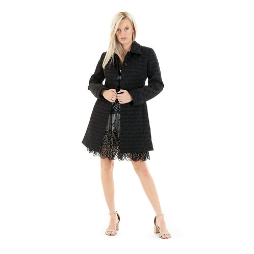 Eve Quilted evening Coat