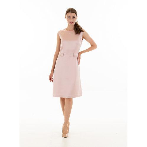 Jackie O dress: pale pink