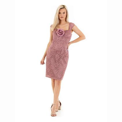 Madeline dress: knee length