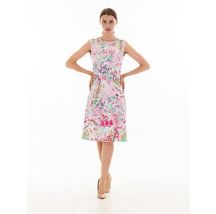 Jackie O:pastels, summer shift, sleeveless, classic