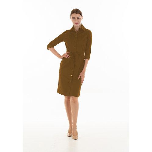 Taupe Abigail dress