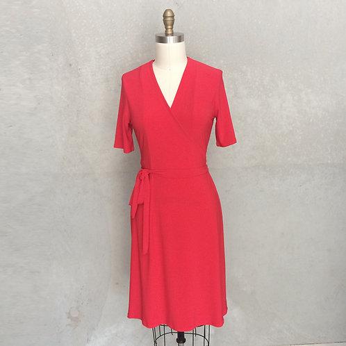 Chloe in red short sleeve