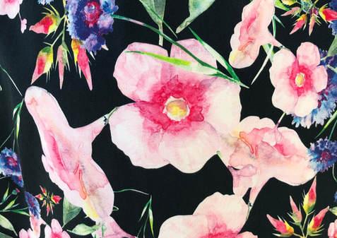 cotton print Botanical gardens