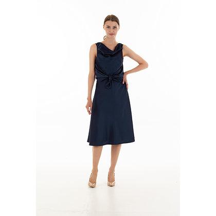 Navy Loretta Dress