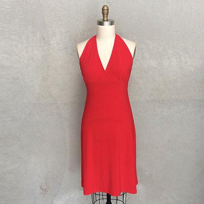 Noel dress in red