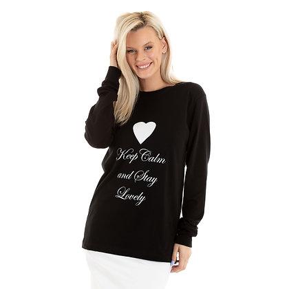 Keep Calm and stay lovely Unisex Premium Crewneck Sweatshirt