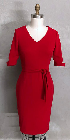 Vana Dress:Red