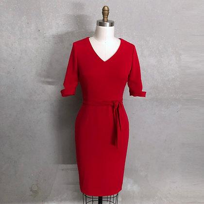 Vana Dress:Red