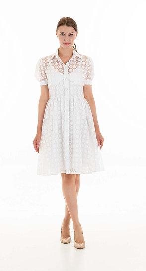 Bianca dress with slip
