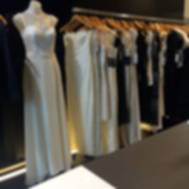 showcasing our bridal collection in our Paddington Sydney