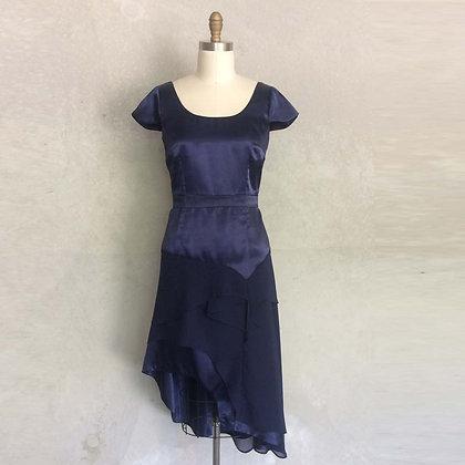Navy Valenzia Gown