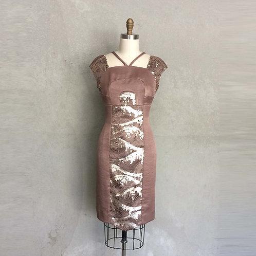 Bronze Decadence dress