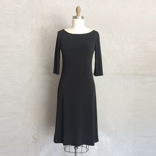 Bettina Jersey dress:black
