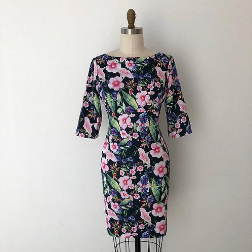 Hillary dress:Botanical Gardens