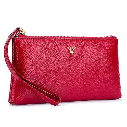 Wristlet Bag/Clutch Bag Wallet Genuine Leather