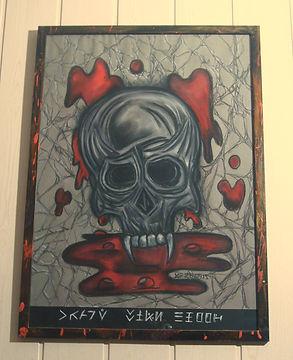 Crane With Blood création de Gu Lagalerie Série Halloween