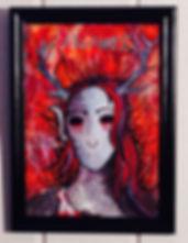 Abrahel la nymphe démoniaque création de Gu Lagalerie Série les Femmes Démoniaques
