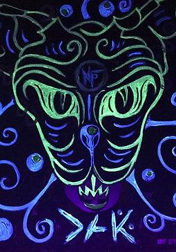 Phosphorescente Skull