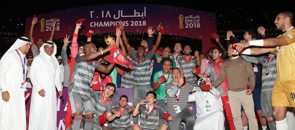 Emir Cup 2018, Al Duhail winner 2018, Qatar Football
