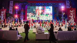 Qatar Fan Zone kicks off with spectacular opening ceremony