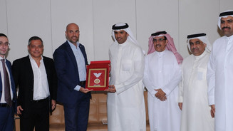 BFA President receives visits Cagliari Calcio club Italy - Bahrain