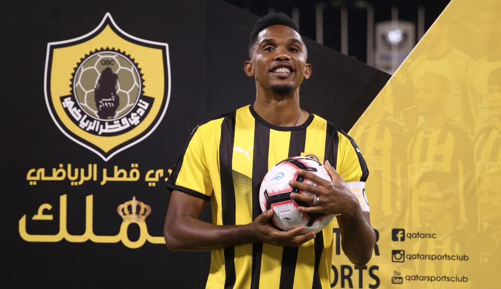 Samuel Eto'o Qatar SC, QNB Stars League 2018/19