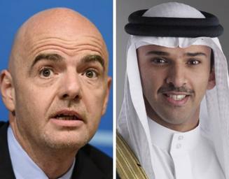 FIFA President congratulates Muharraq