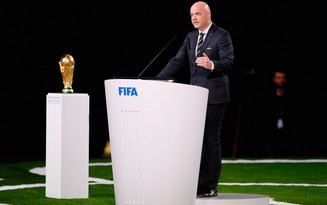 FIFA President meets SC leadership in Russia