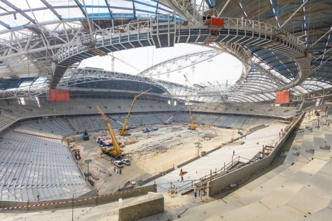 Al Wakrah Stadium Road To Qatar 2022