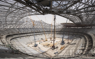 New construction material named after 2022 FIFA World Cup Qatar™ stadium