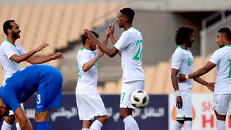 Saudi Arabia- squad for training camp