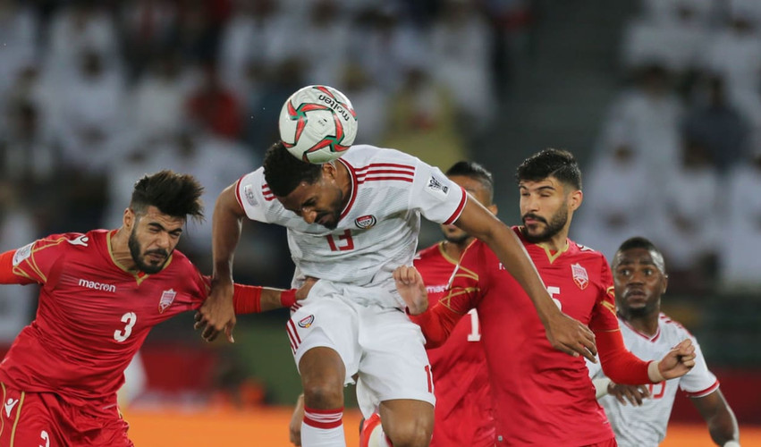Group A: UAE 1-1 Bahrain